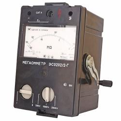 Мегаомметры ЭСО-202/1Г, ЭСО-202/2Г (взамен мегаомметров М-4100/1, М-4100/2, М-4100/3, М-4100/4, М-4100/5)